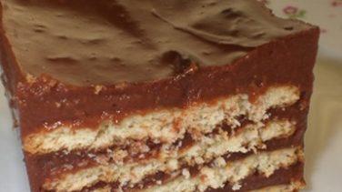 Bisküvili Yaş Pasta Tarif