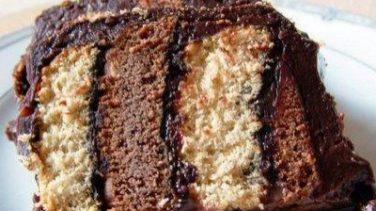 İki Renkli Pasta Tarifi