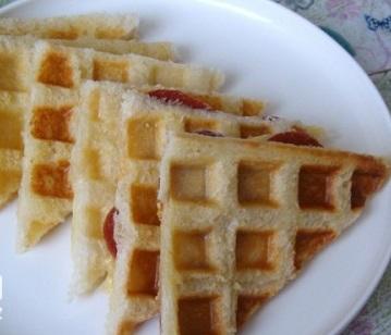 Karışık Waffle Tost Tarifi 1