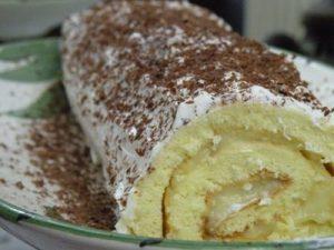 Kremalı Rulo Pasta