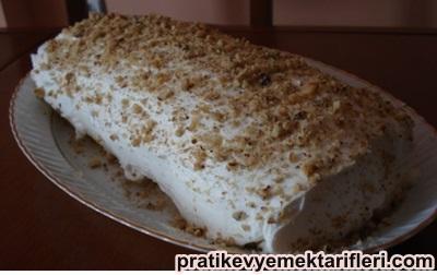 Kremalı Rulo Pasta Yapılışı 1
