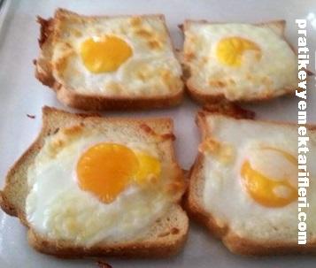 Yumurtalı Ekmek Tarifi 1