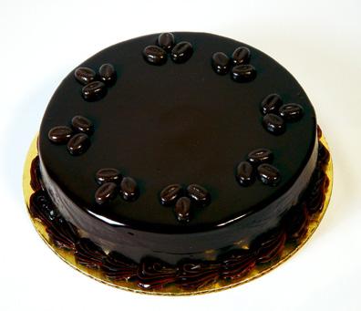 Çikolatalı Pasta Tarifleri Sunumu