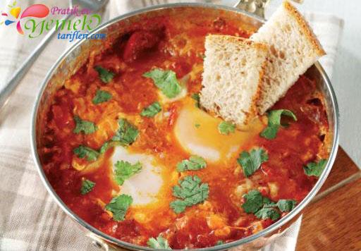 domatesli yumurtalı yemek tarifleri