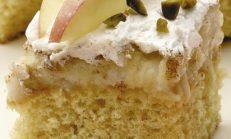 Elmalı Yaş Pasta Tarifi