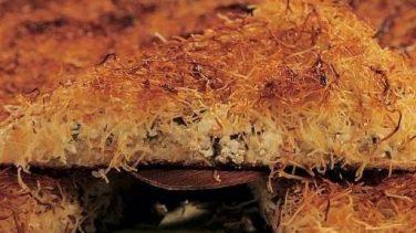 Hellim Peynirli Tel Kadayıf Tatlısı Tarifi