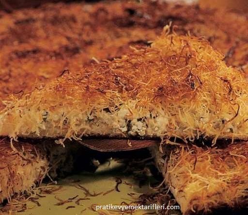 Hellim Peynirli Tel Kadayıf Tatlısı