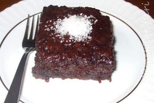 Kakaolu Islak Kek Tarifi 2