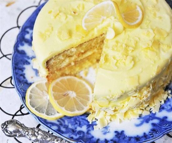 Limonlu Pasta Tarifi Görselleri