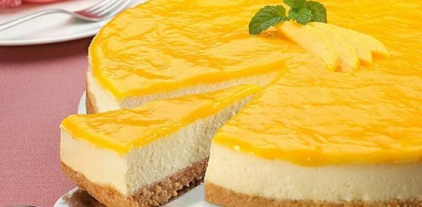 Limonlu Pasta Tarifi Sunumu