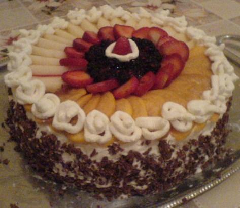 Meyveli Pasta Tarifleri Görselleri