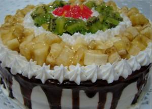 Meyveli Pasta Tarifleri Sunumu
