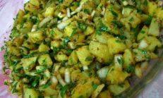 Patates Salata Tarifleri Görselleri