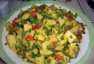 Patates Salata Tarifleri Resimleri
