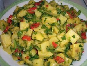 Patates Salata Tarifleri