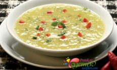 Mercimekli Prasalı Patates Çorbası