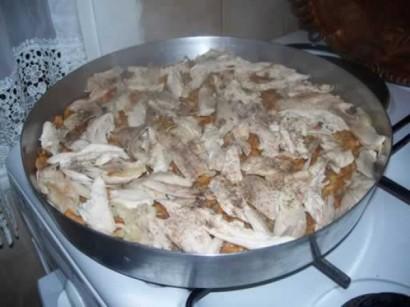 Tavuklu Yemek Tariferi