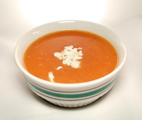 Domates Çorbası Tarifleri Sunumu