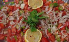 Domatesli Soğan Salatası Tarifi