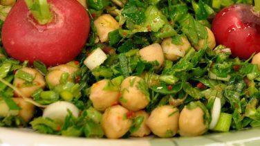 Nohut Salatası Oktay Ustadan