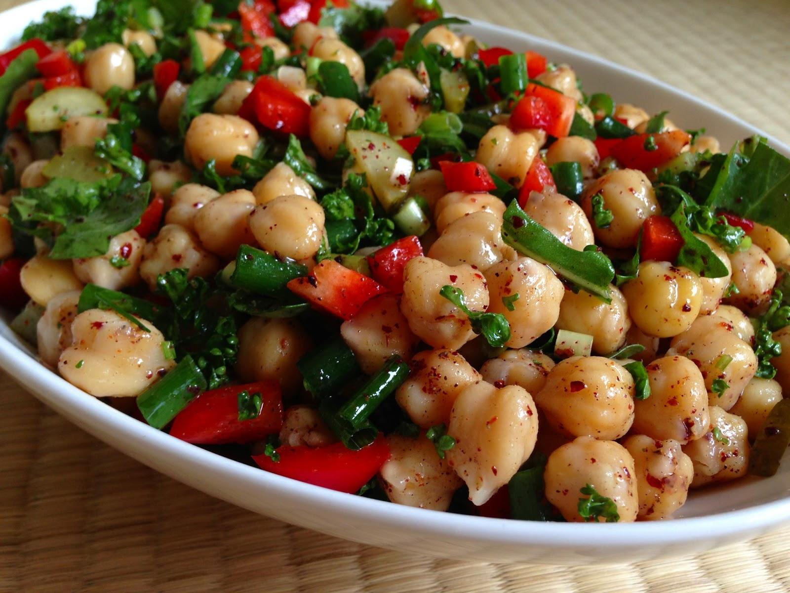 Nohut Salatası Oktay Ustadan 5