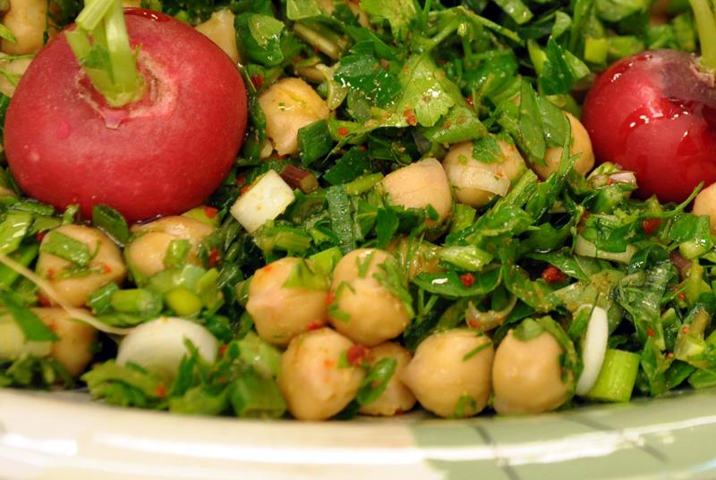 Nohut Salatası Oktay Ustadan 4
