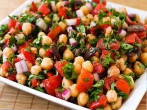 Nohut Salatası Oktay Usta