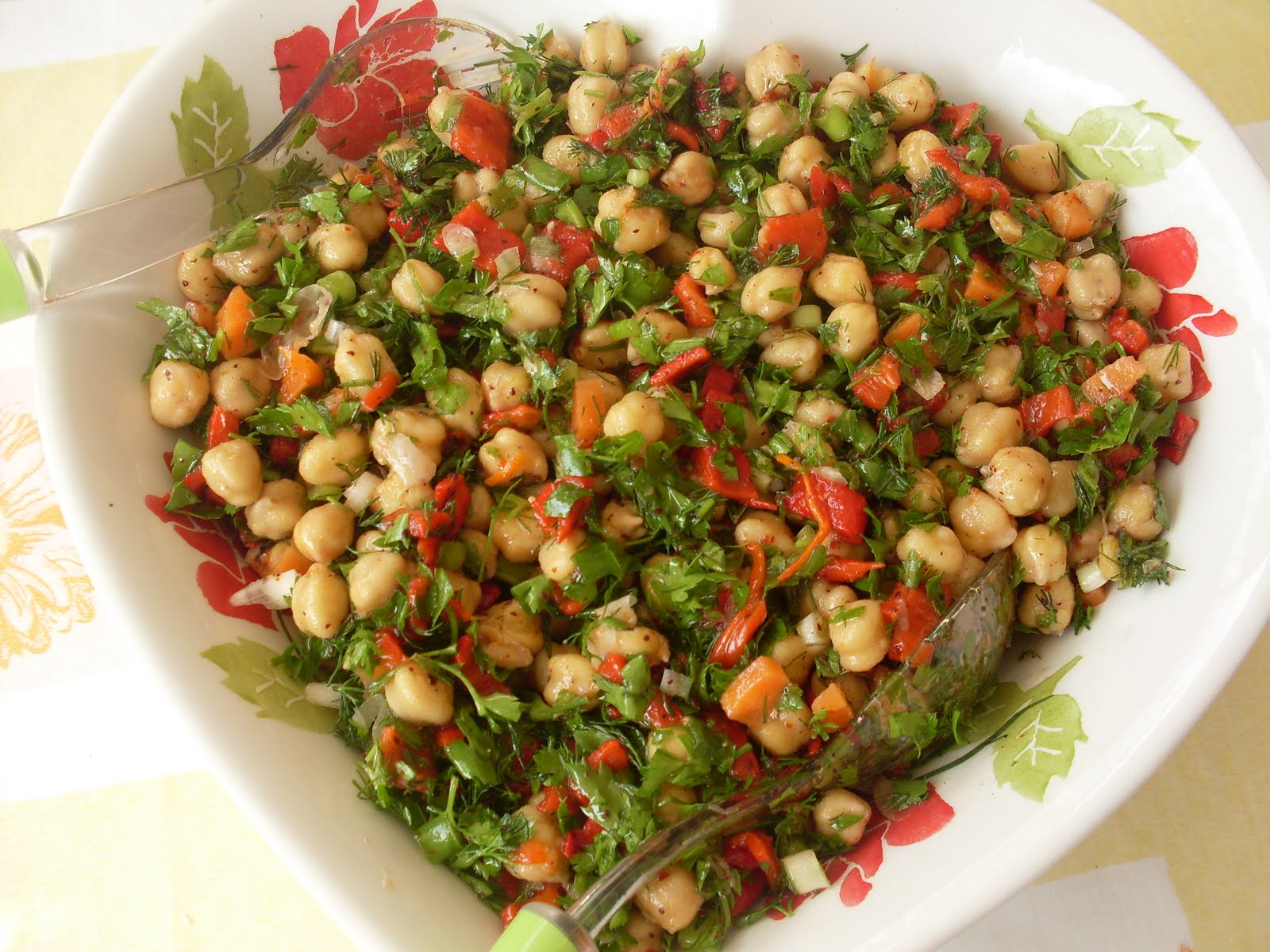 Nohut Salatası Oktay
