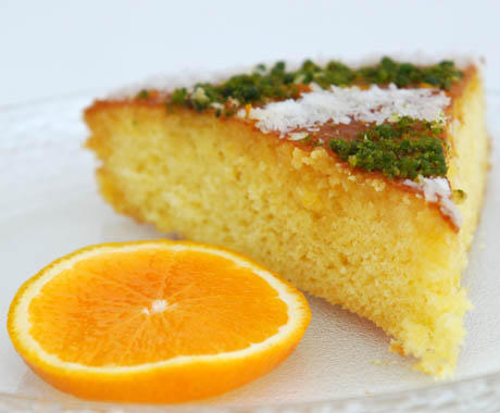 Portakallı Kek Görselleri