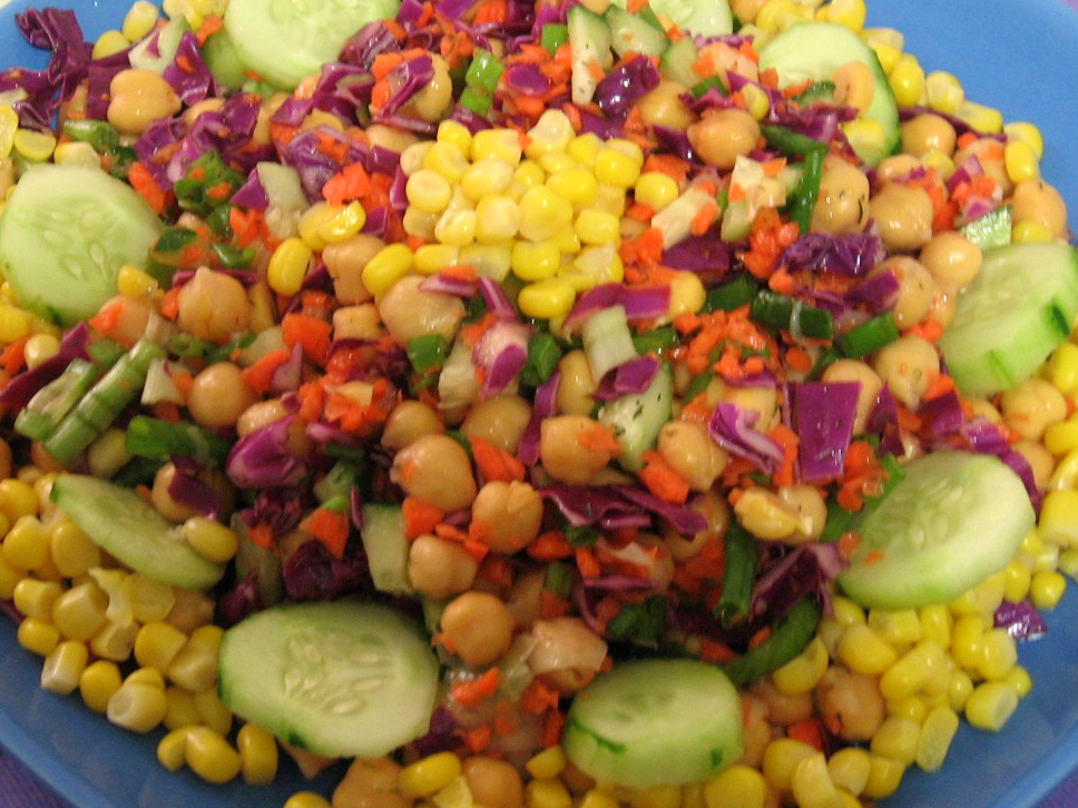 Nohut Salatası Oktay Ustadan 6