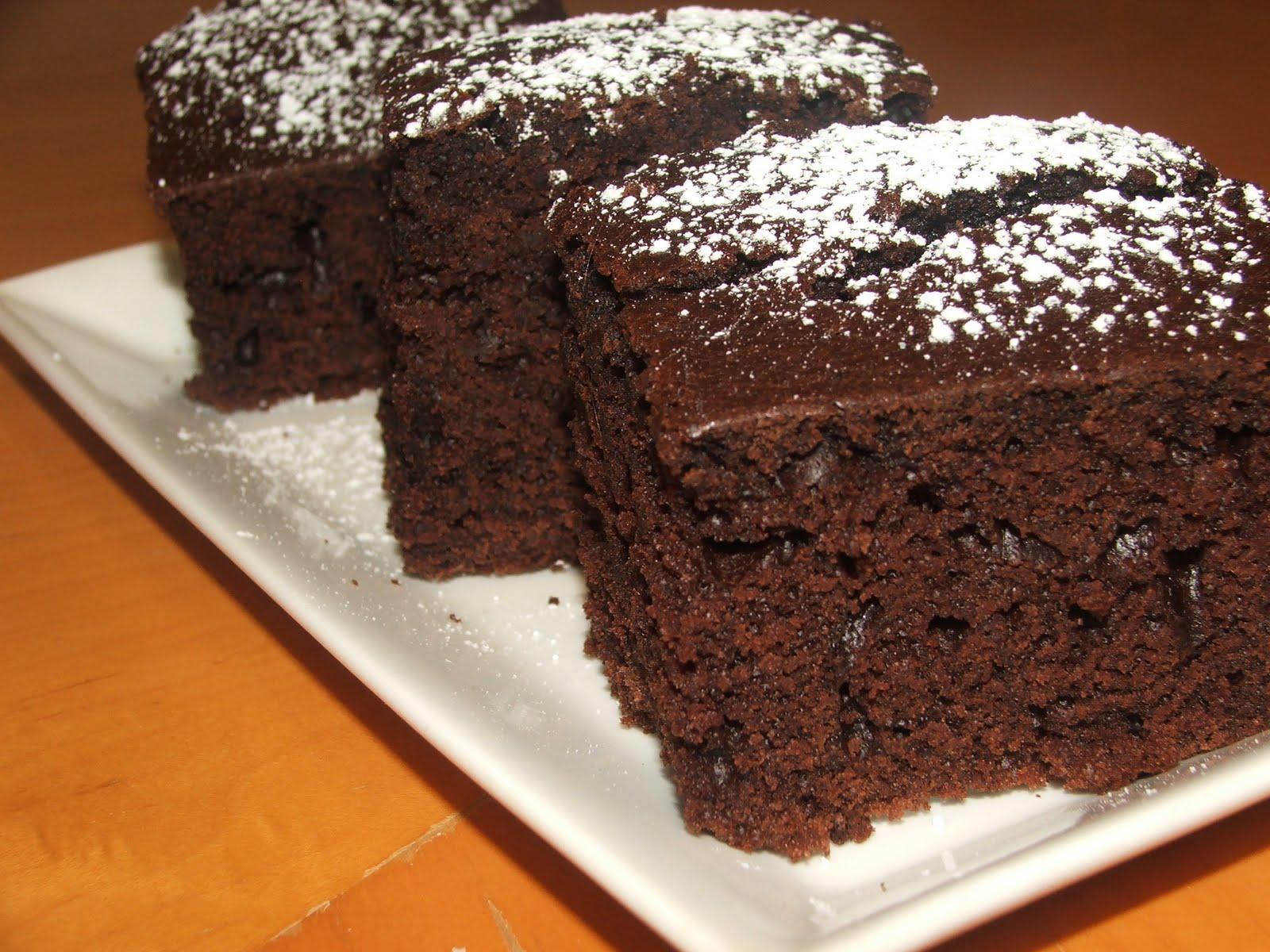 Çikolatalı Kek Sunumuu