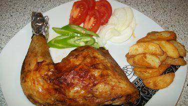 Fırında Tavuk Butlar