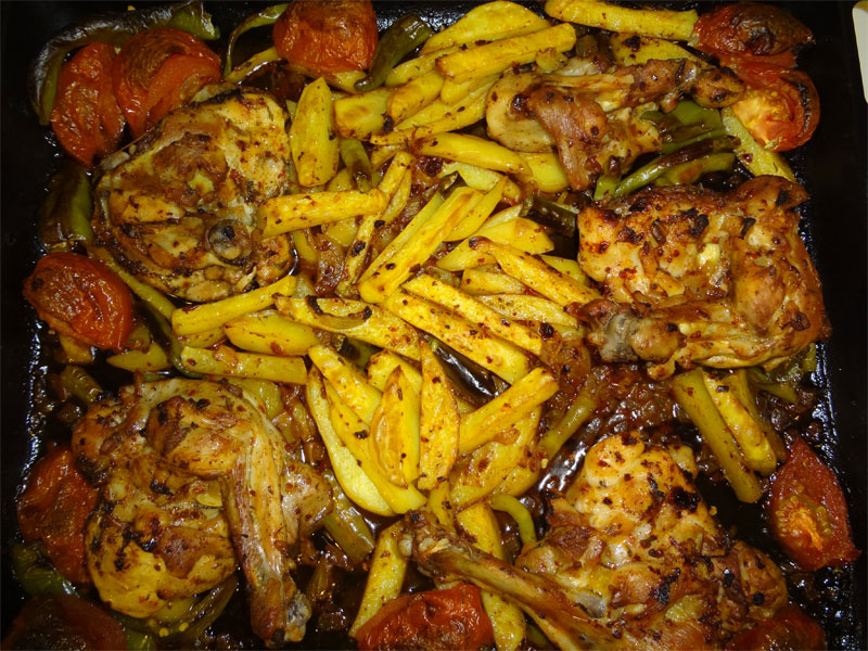 Fırında Tavuk Butlar 4