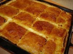 Laz Böreği Sunumu