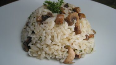 Mantarlı Pirinç Pilavı Tarifi