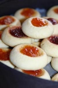 Reçelli kurabiye görselleri