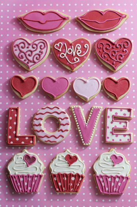 Sevgililer Günü Kurabiyesi Görselleri
