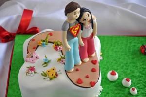 Sevgililer Gunu Pastaları
