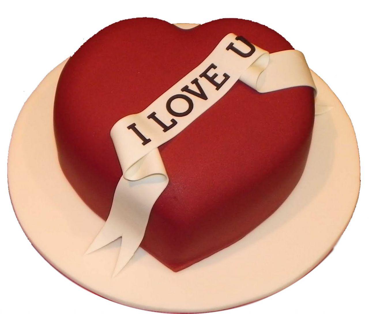 Sevgililer Gunu Pastası Güzel