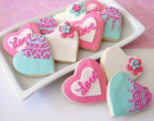 Sevgililer Günü Tatlısı Görselleri