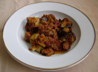 Patlıcan Musakka 5