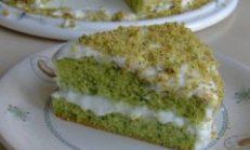 Yeşil Pasta Tarifi