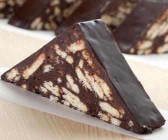 Pratik Mozaik Pasta tarifi 4