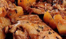 Tavuklu Patatesli Yemek