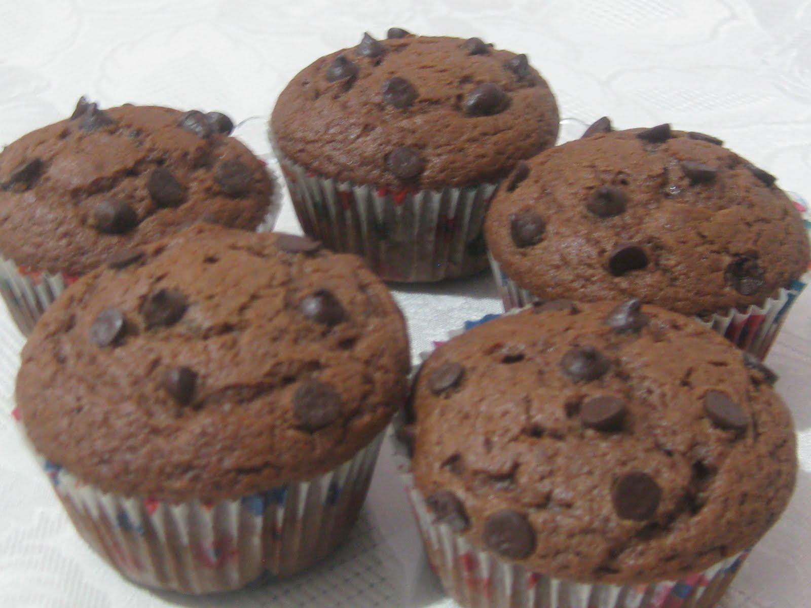 Damla Çikolatalı Muffin 2