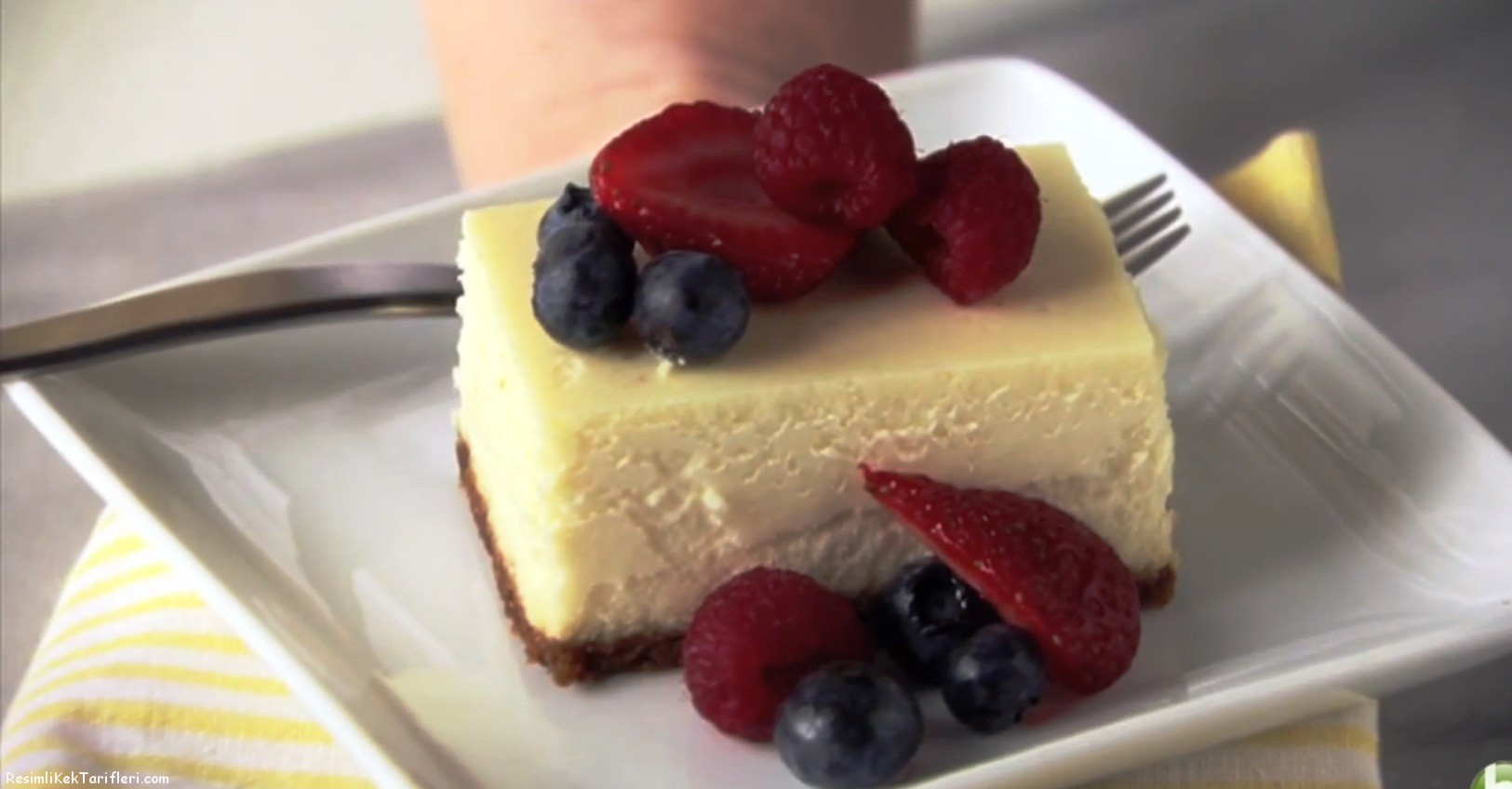 cheesecake tarifi grsel
