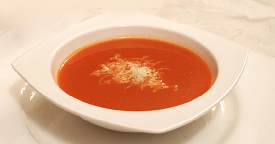 Rendelenmiş Kaşar Peynirli Domates Çorbası 5