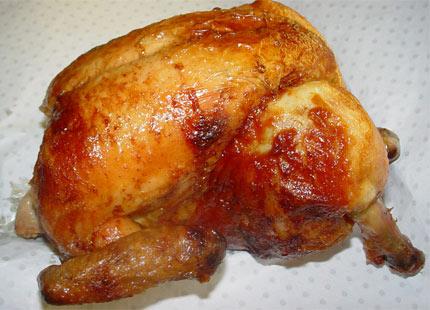 Fırında Bütün Tavuk 1