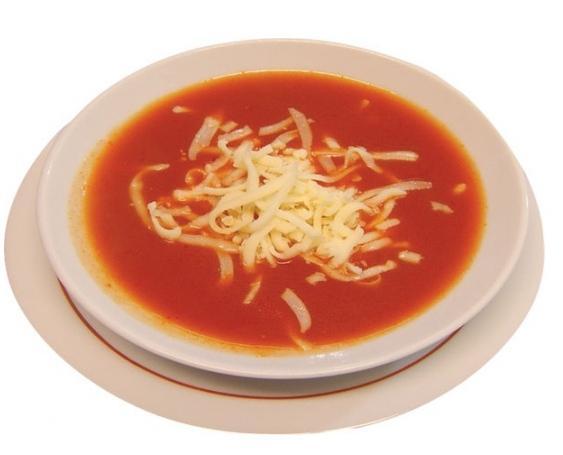 Rendelenmiş Kaşar Peynirli Domates Çorbası 1
