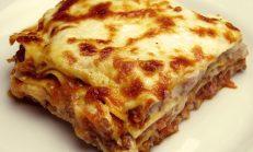 Kaşar Peynirli Patlıcanlı Lazanya Tarifi